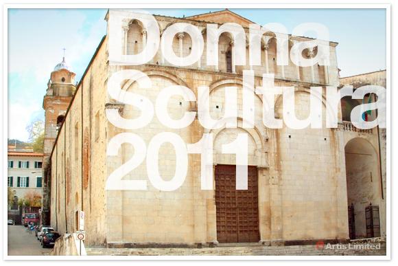 Donna Scultura 2011 Sculpture is Woman in Pietrasanta.