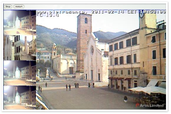 webcam pietrasanta piazza del duomo