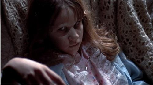 "Linda Blair in ""The Exorcist."""