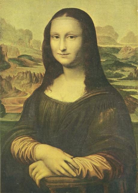 Бернардино Луини. Мона Лиза (копия), Рим