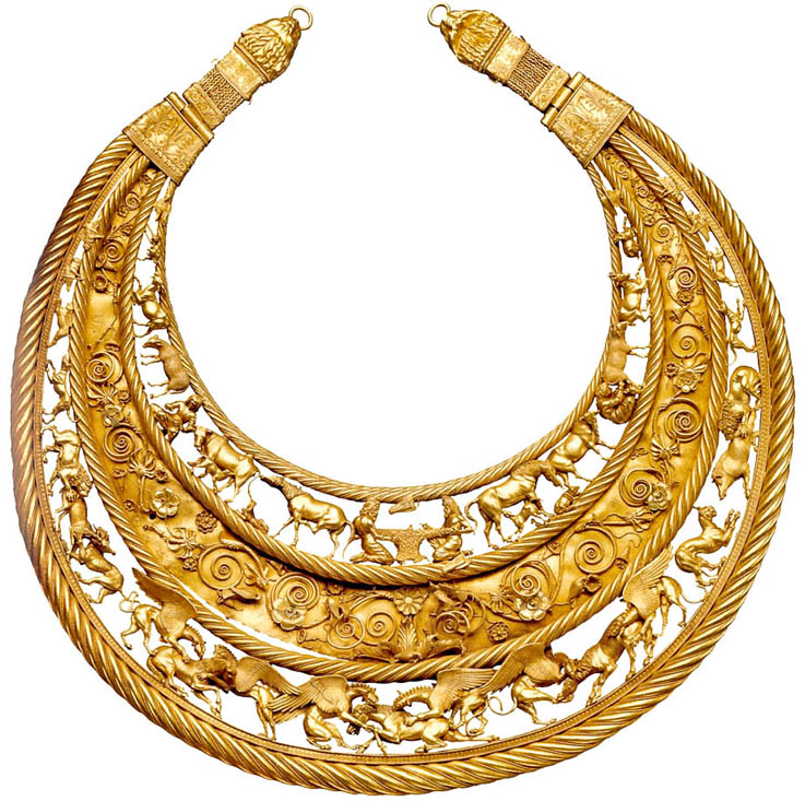 Scythia-Gold-Necklace