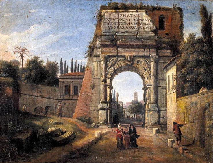 Gaspar-van-Wittel-Arch-of-Titus