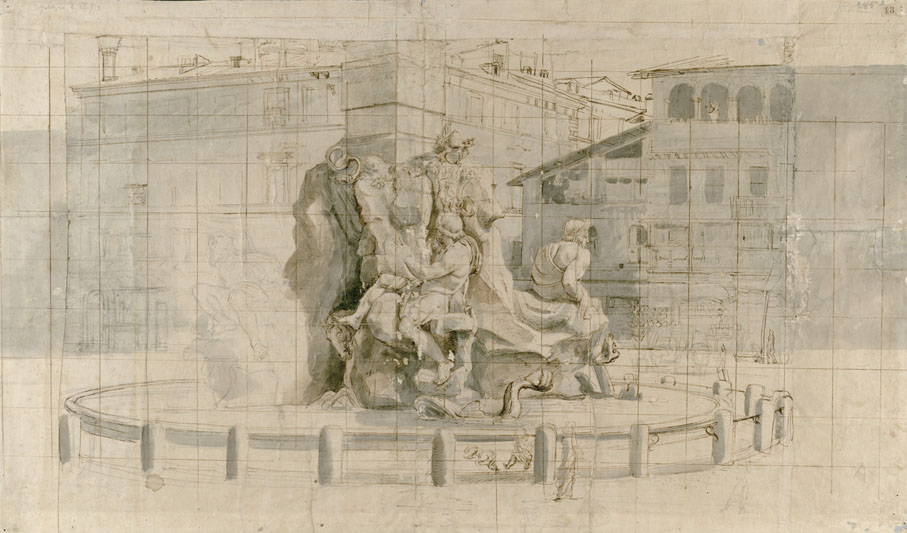 Gaspar-van-Wittel-La-fontana-dei-Fiumi-Piazza-Navona