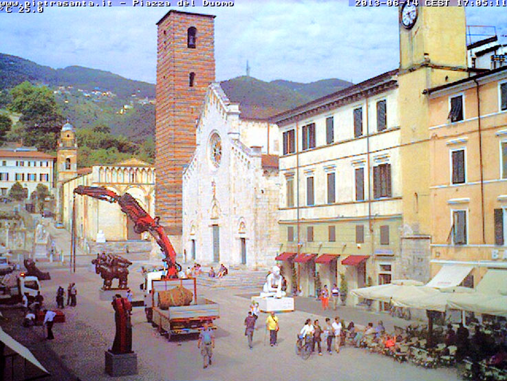 Pietrasanta-webcam-Homo-Faber-Installation
