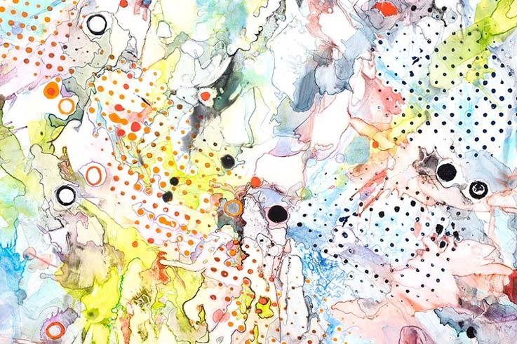 Linda Schrank New York Based Artist Exhibits Her Abstract Spirit