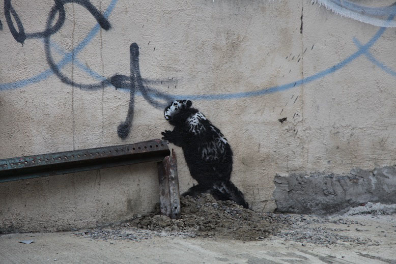 Banksy-Better-Out-Than-In-NY-No-Parking-Any-Time