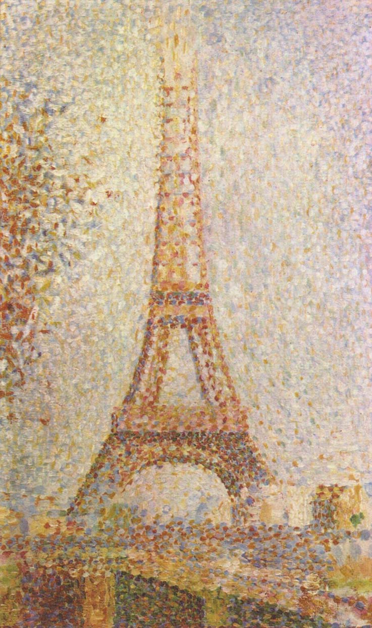 Eiffel-Tower-Georges-Seurat