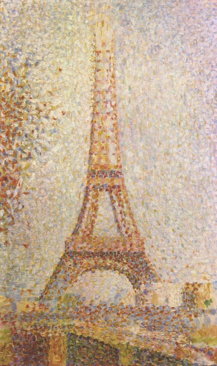 Eiffel-Tower-Georges-Seurat