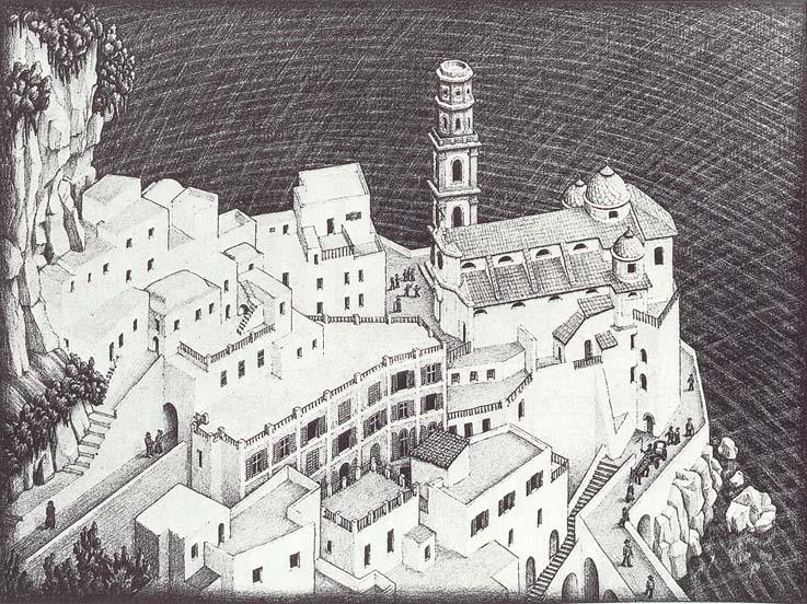 Escher-Amalfi-Italy