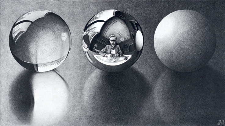 Escher-Three-Spheres