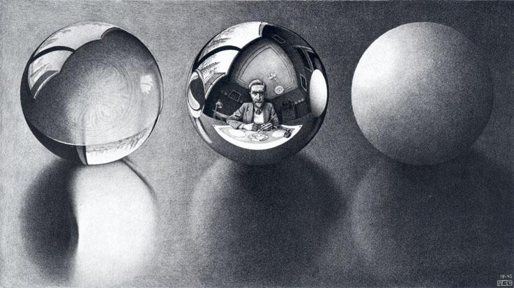 Escher-Three-Spheres