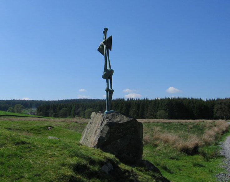 Sculpture-Glenkiln-geograph.org.uk-13270