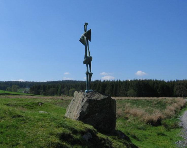 Sculpture-Glenkiln-geograph.org.uk-13270