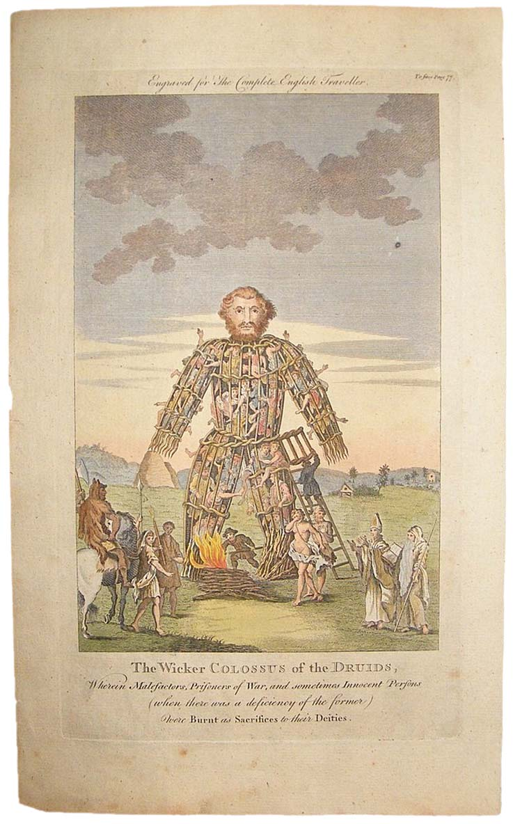 The-Wicker-Colossus-of-the Druids-Albion-Prints-com