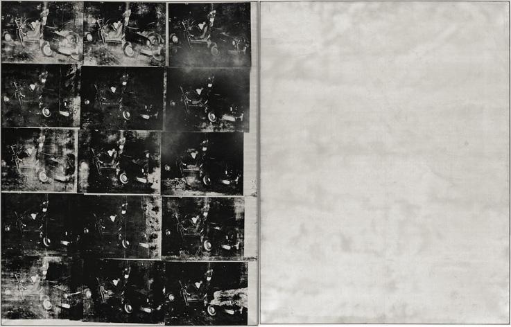 Andy-Warhol-Silver-Car-Crash-1963