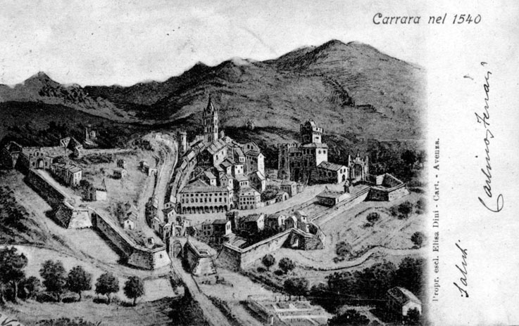 cartolina-carrara-postcard-carrara-nel-1540