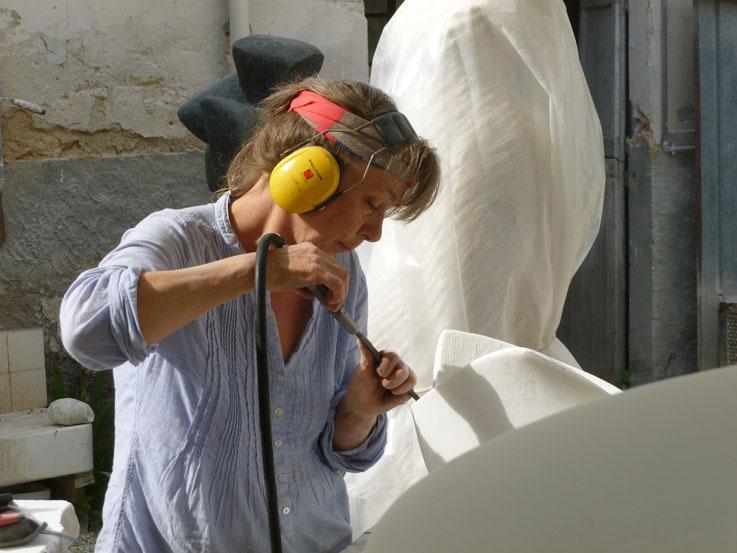inger-sannes-Donna-Scultura-Pietrasanta-2014.