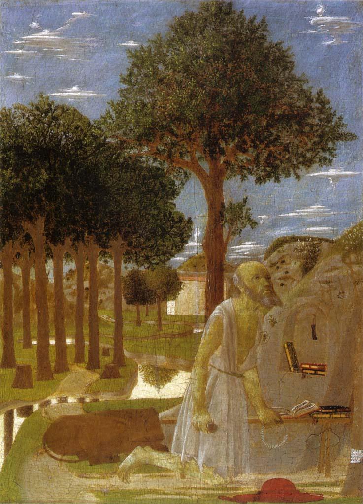 Piero-Della-Francesca-Girolamo-Penitente-1450-Gemaeldegalerie-Zu-Berlin