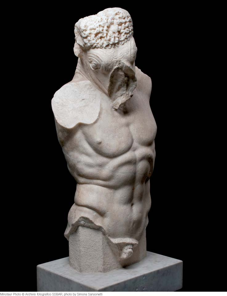 Mostri-Creature-fantastiche-Roma-Minotaur