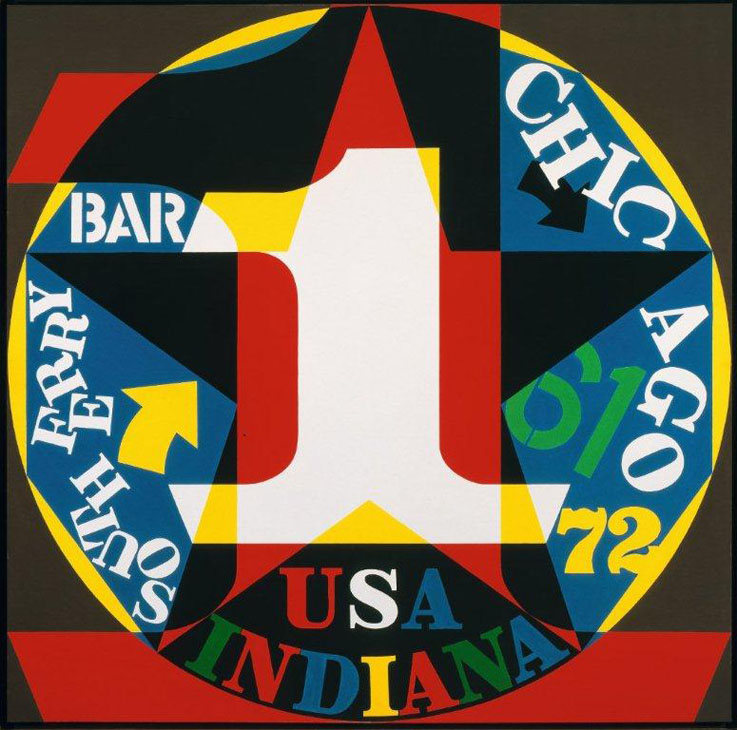 Robert-Indiana-McNay-Decade-Autoportrait-1961-(1972-77)