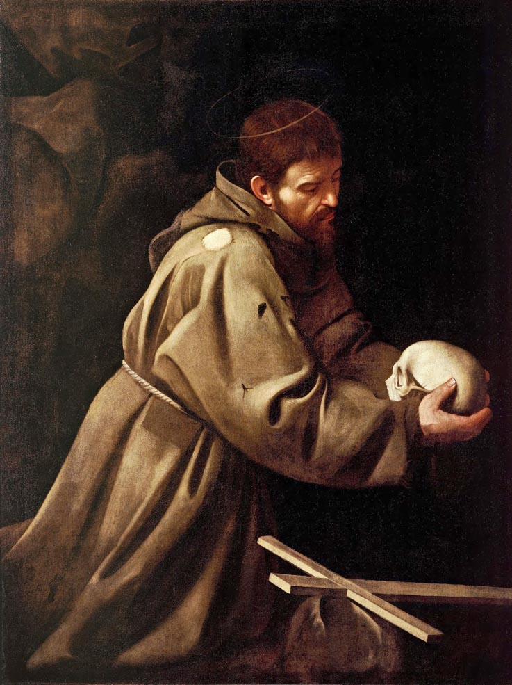 Caravaggio-Saint-Francis-in-Prayer
