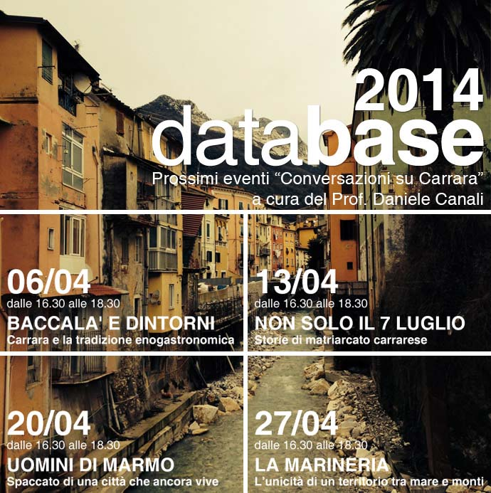 DATABASE-CARRARA-program-april-2014
