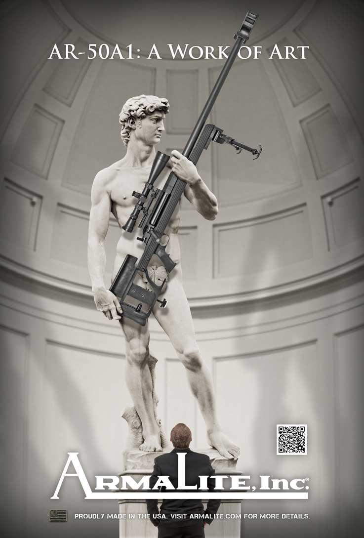 Michelangelo-David-Arma-AR50A1-72-Rifle