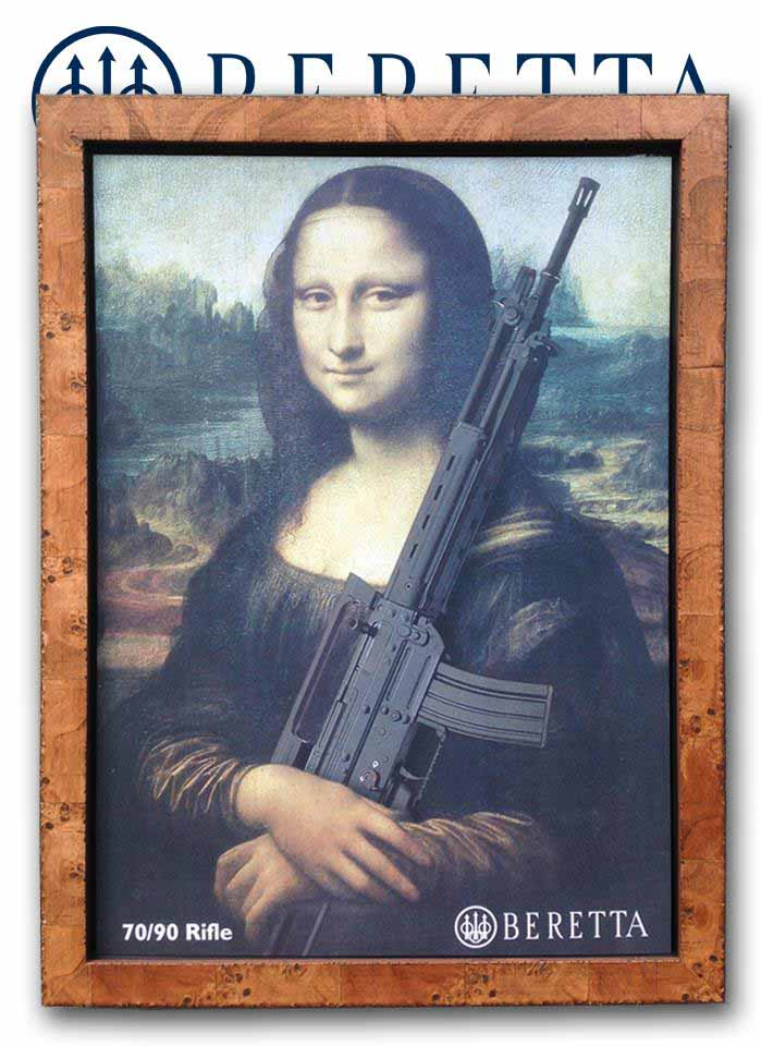 Mona-Lisa-Beretta-Rifle