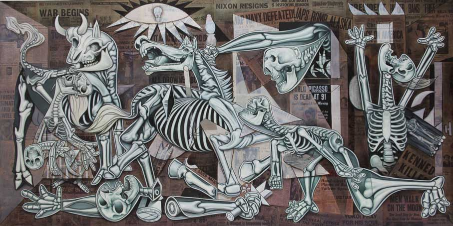 the interpretations of guernica What is the meaning of guernica, the 1937 mural by pablo picasso spain and bullfighting influence the meaning of this famous anti war painting.