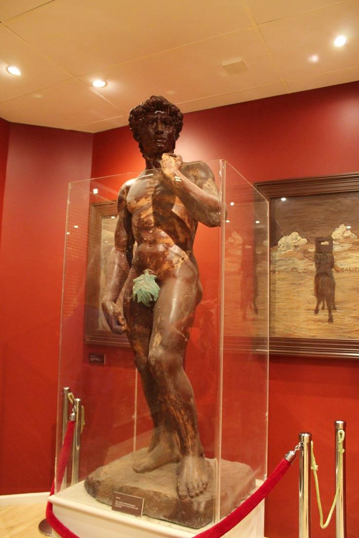 Michelangelo-David-Chocolate-Untempoperviaggiare