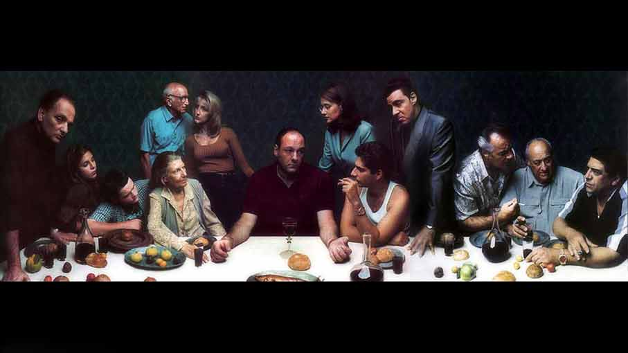 "The Sopranos, Pilot"" (David Chase, 1999, Full Episode)   Art"