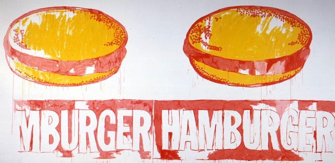 Warhol-Double-Hamburger-1985