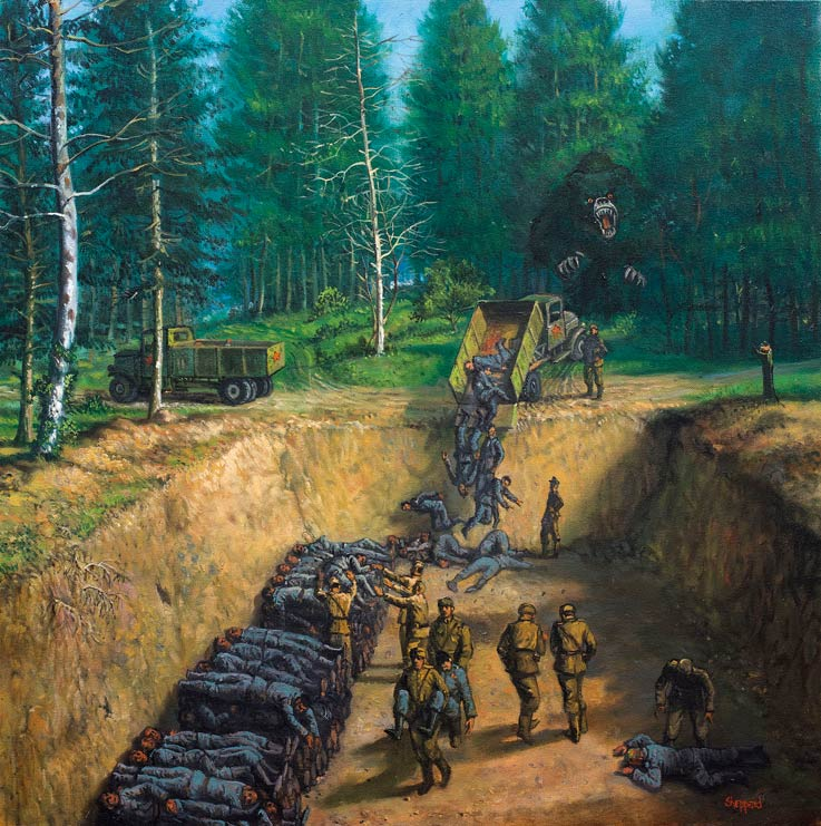 Joseph-Sheppard-The-Horrors-of-War-Pietrasanta-arte