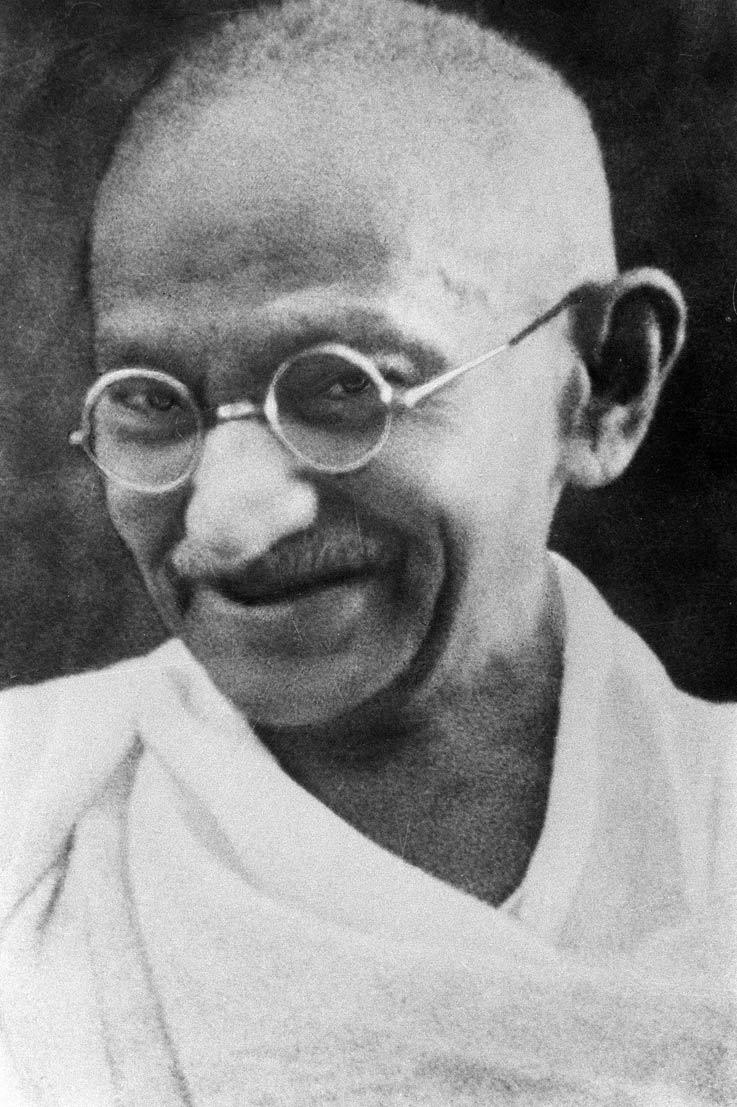 Portrait-Gandhi