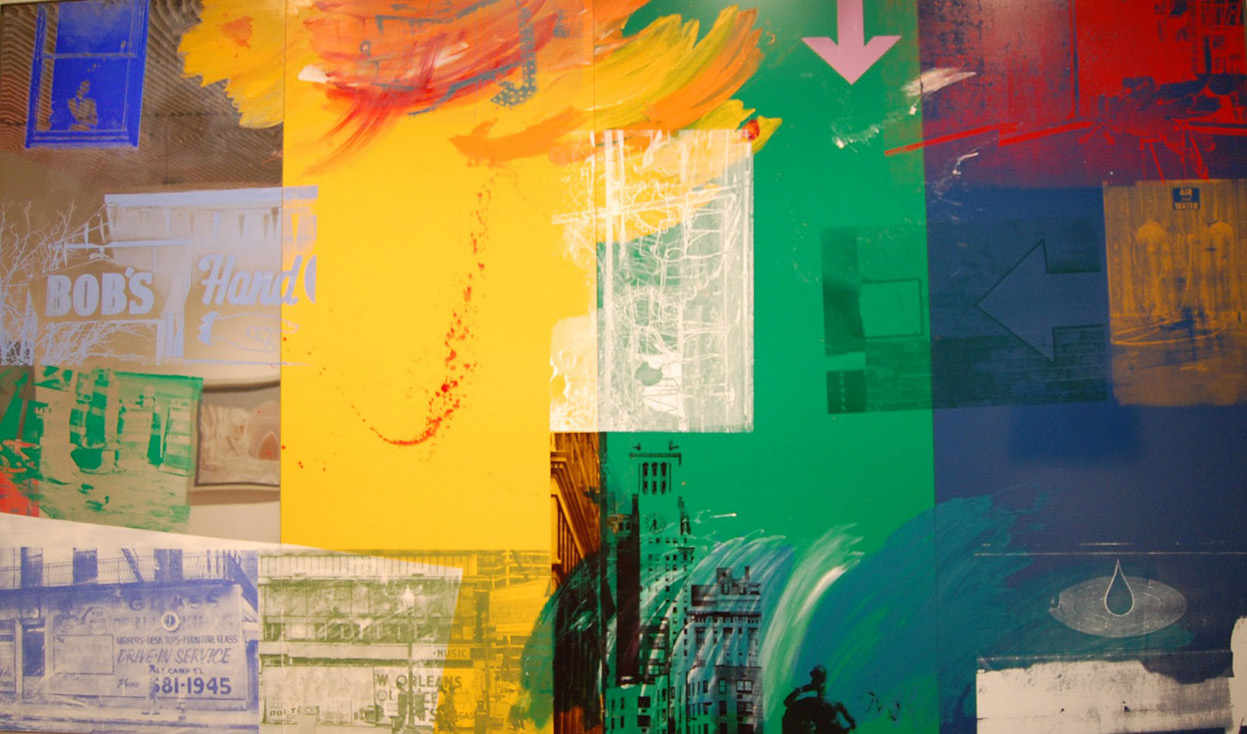 Robert-Rauschenberg,-1993-Catch-(Urban-Bourbon)
